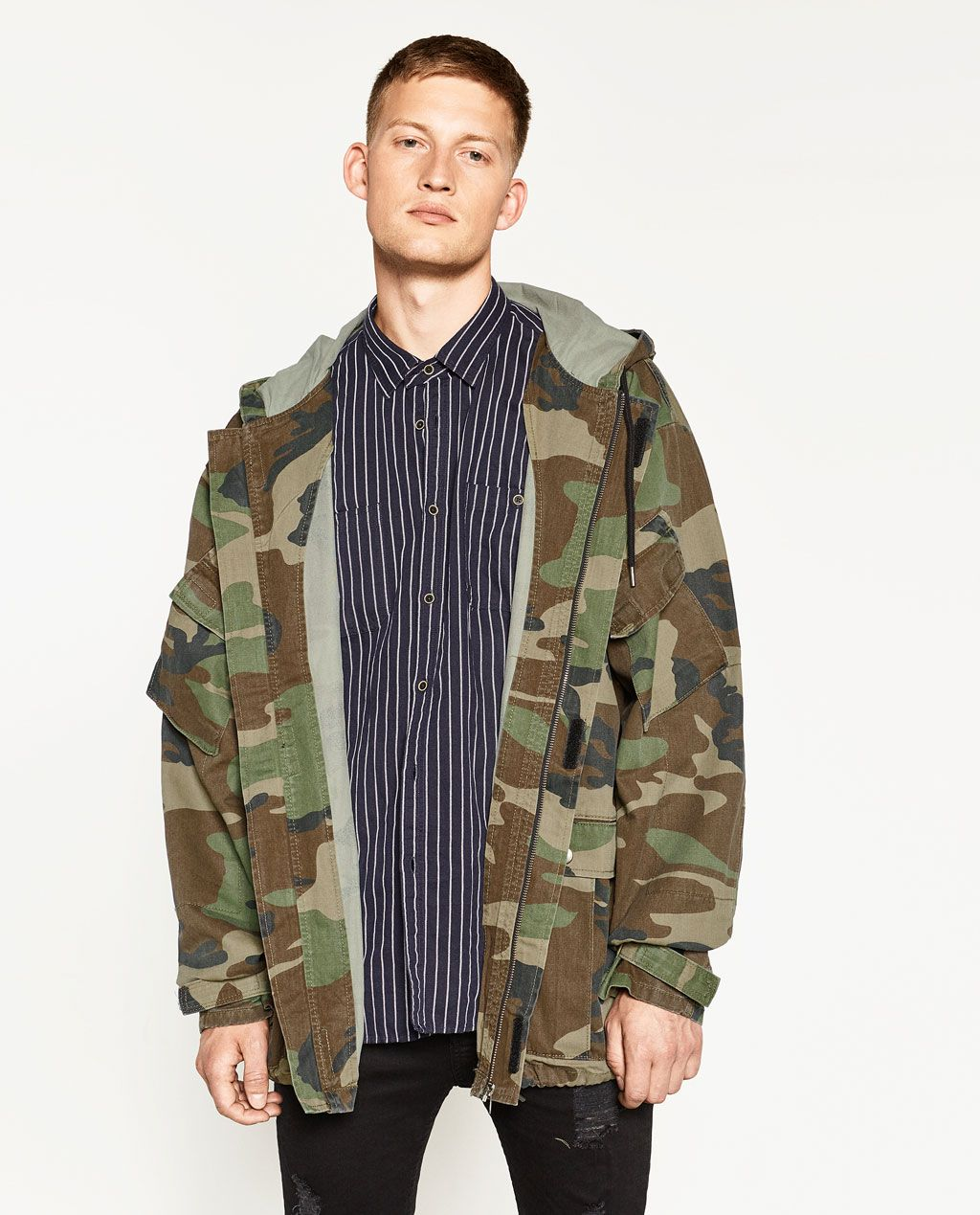 26d945ab CAMOUFLAGE JACKET-OUTERWEAR-MAN-SALE | ZARA United States | My ...