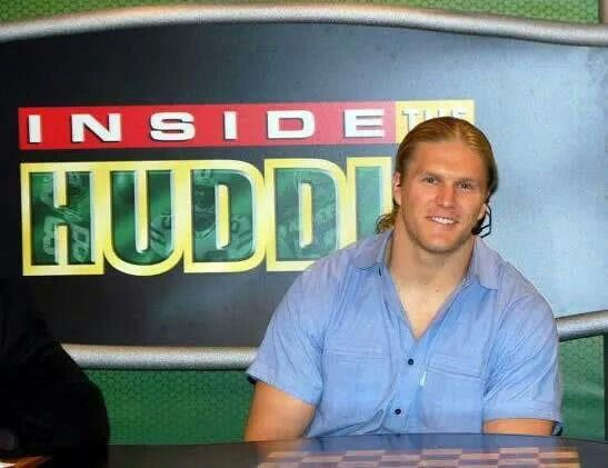 Clay on Inside the Huddle