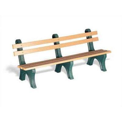 Eagle One High Back Plastic Park Bench Leg Color Outdoor Bench Bench Wooden Garden Benches