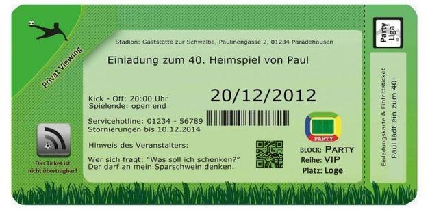 einladungskarten geburtstag einladung fussball | produkte, Einladungskarten