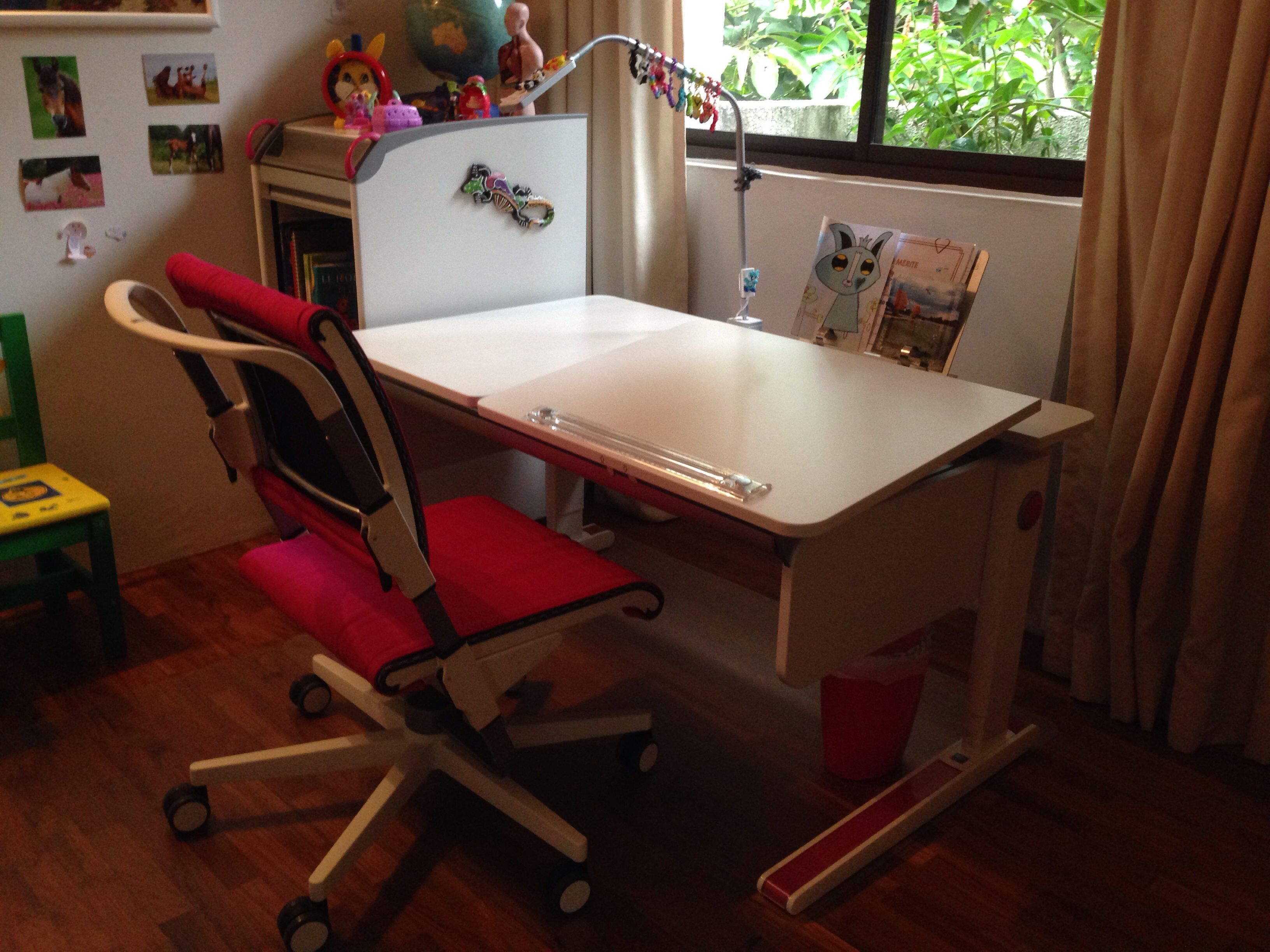 Moll Champion Desk with Scooter Chair Balmoral Road kidsdesks