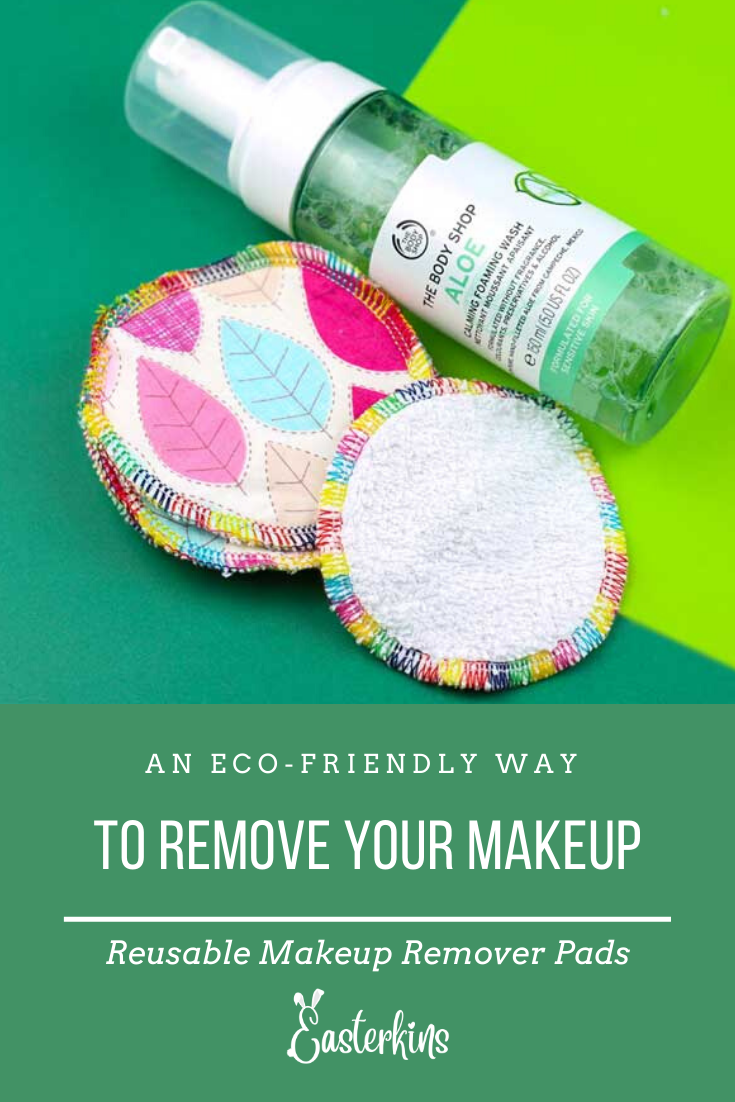 Reusable Makeup Remover Wipes Easterkins Easterkins