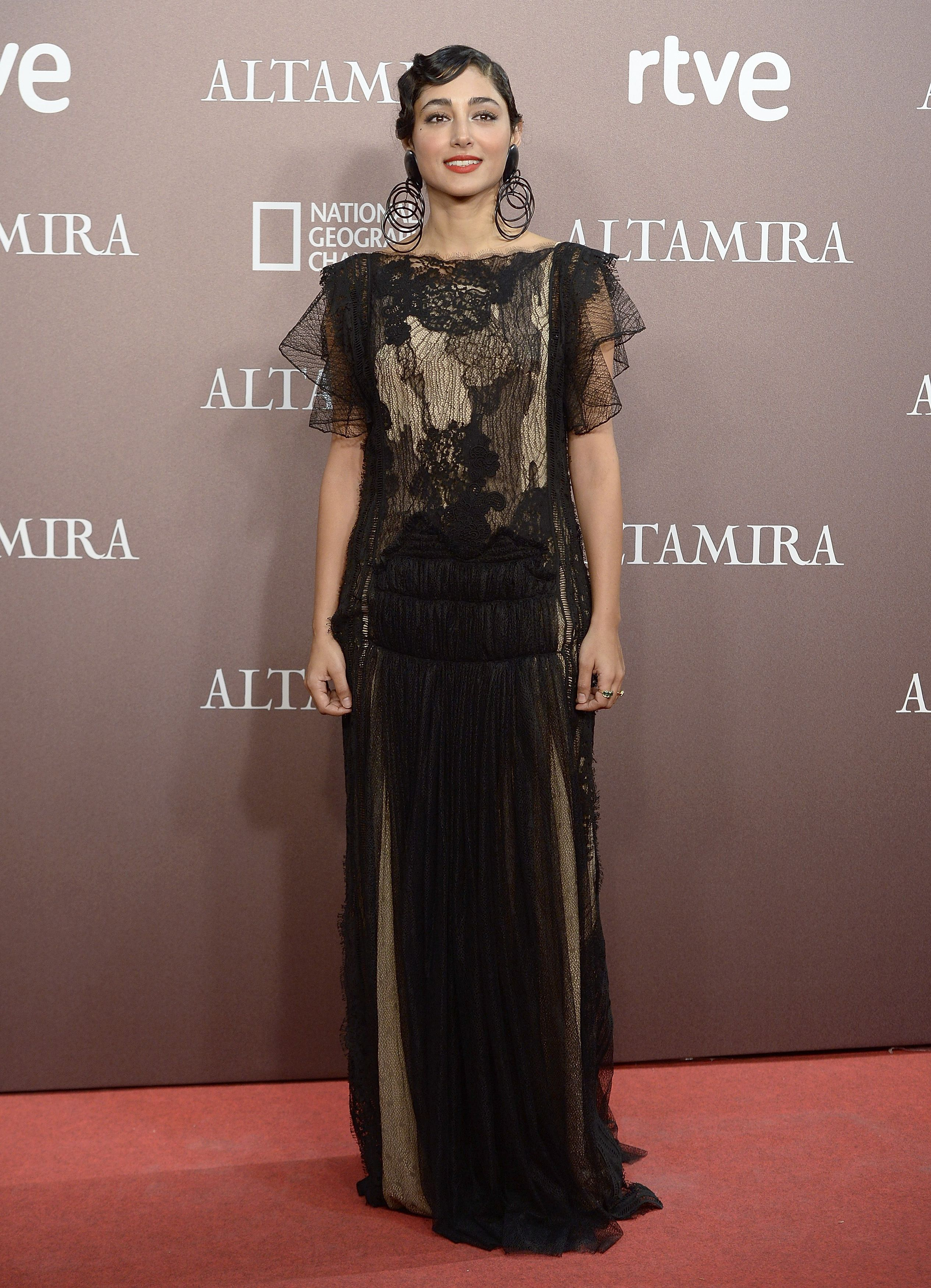 Actress Golshifteh Farahani looked elegant on the red ...