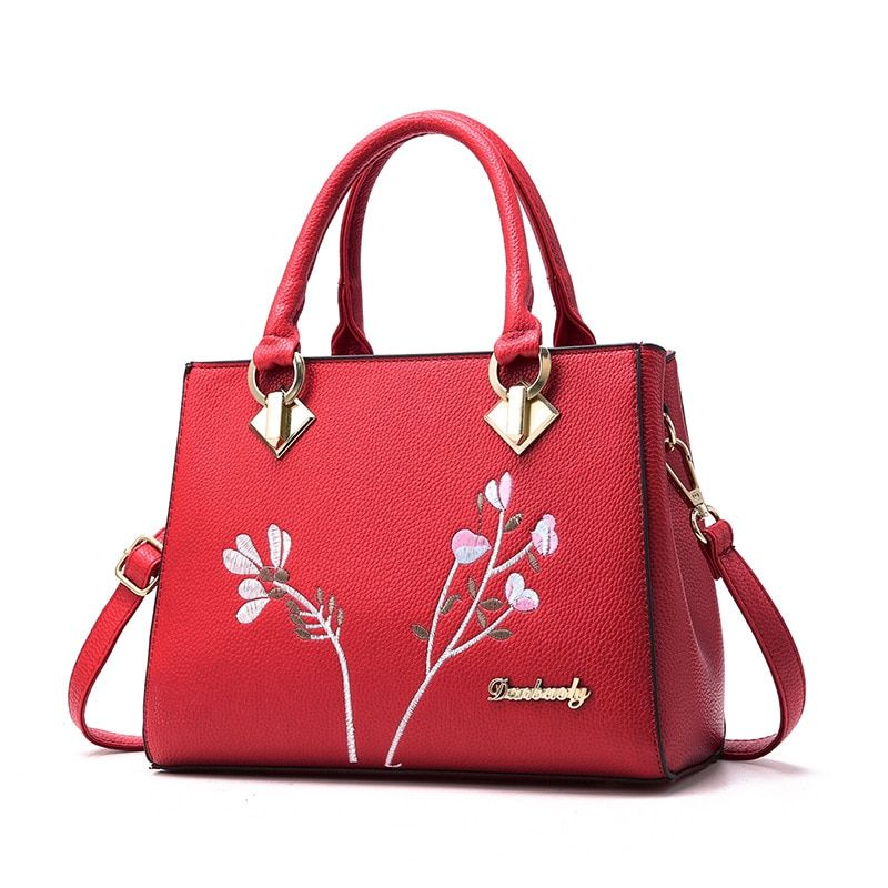 2539ed4c206 Ladies Bags s Totes Sac A Main Women Handbag Flower Women Shoulder Bags  Women Pu Leather