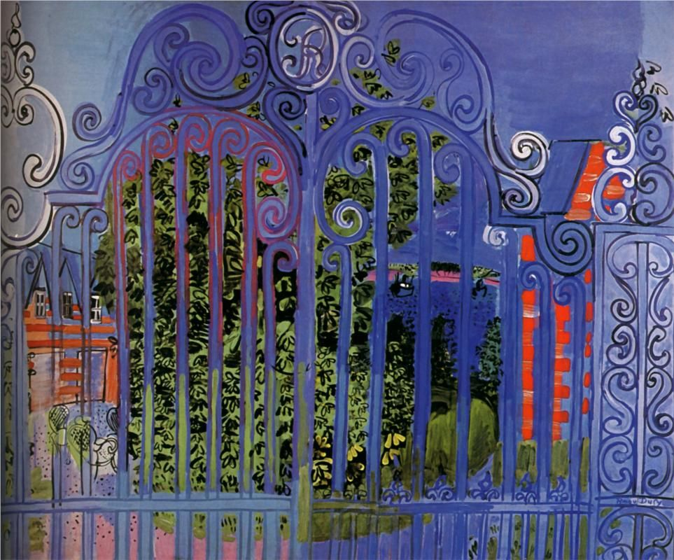 The Grid (1930) by Raoul Dufy