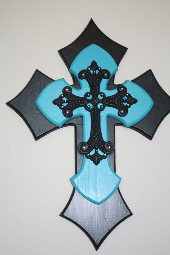 Items Similar To Medium Wooden Cross On Etsy