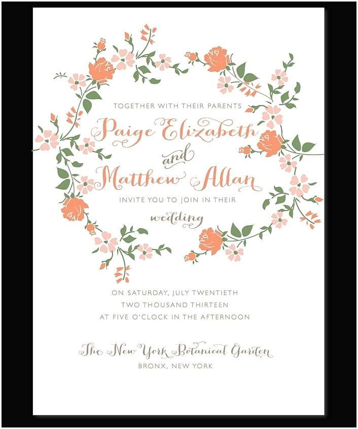 wedding invitation examples- Your selection depends on the form of ...