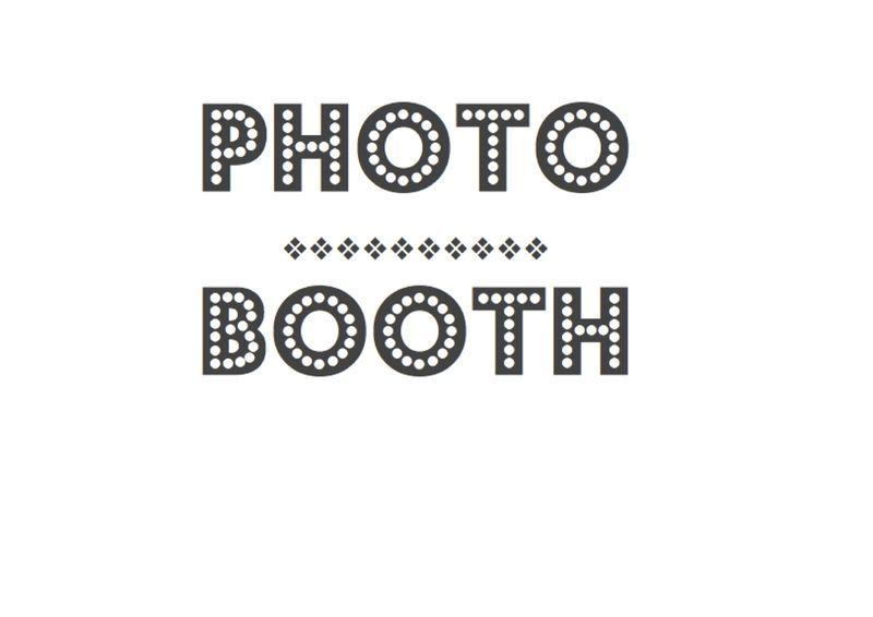 photobooth sign free printable scrapbook pinterest free printable and wedding. Black Bedroom Furniture Sets. Home Design Ideas