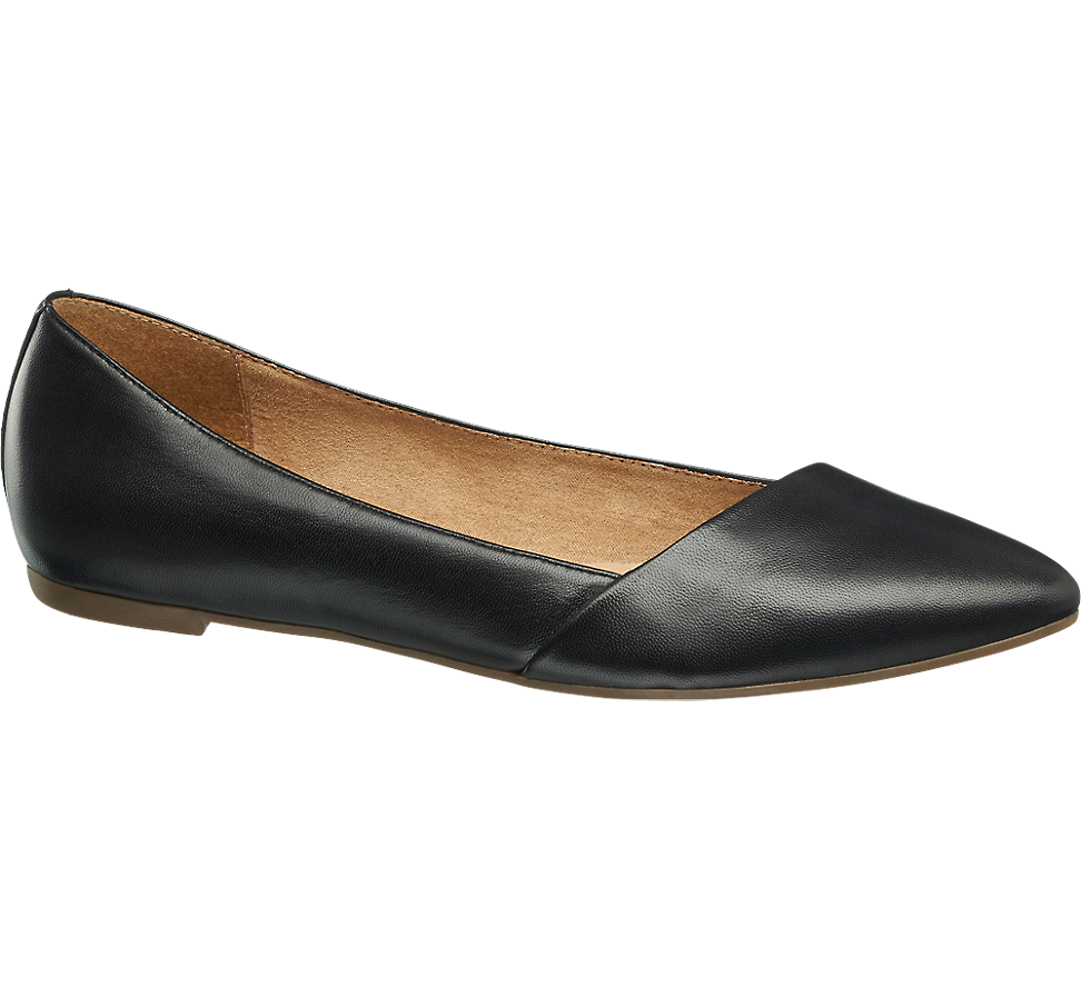 Skorzane Baleriny Damskie5th Avenue 1141208 Shoes Loafers Ballerina