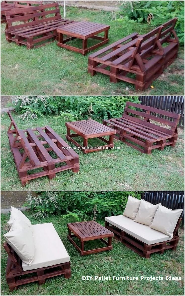 Tempting Diy Ideas With Recycled Wooden Pallets Diy Pallet Couch Wood Pallet Furniture Diy Pallet Furniture
