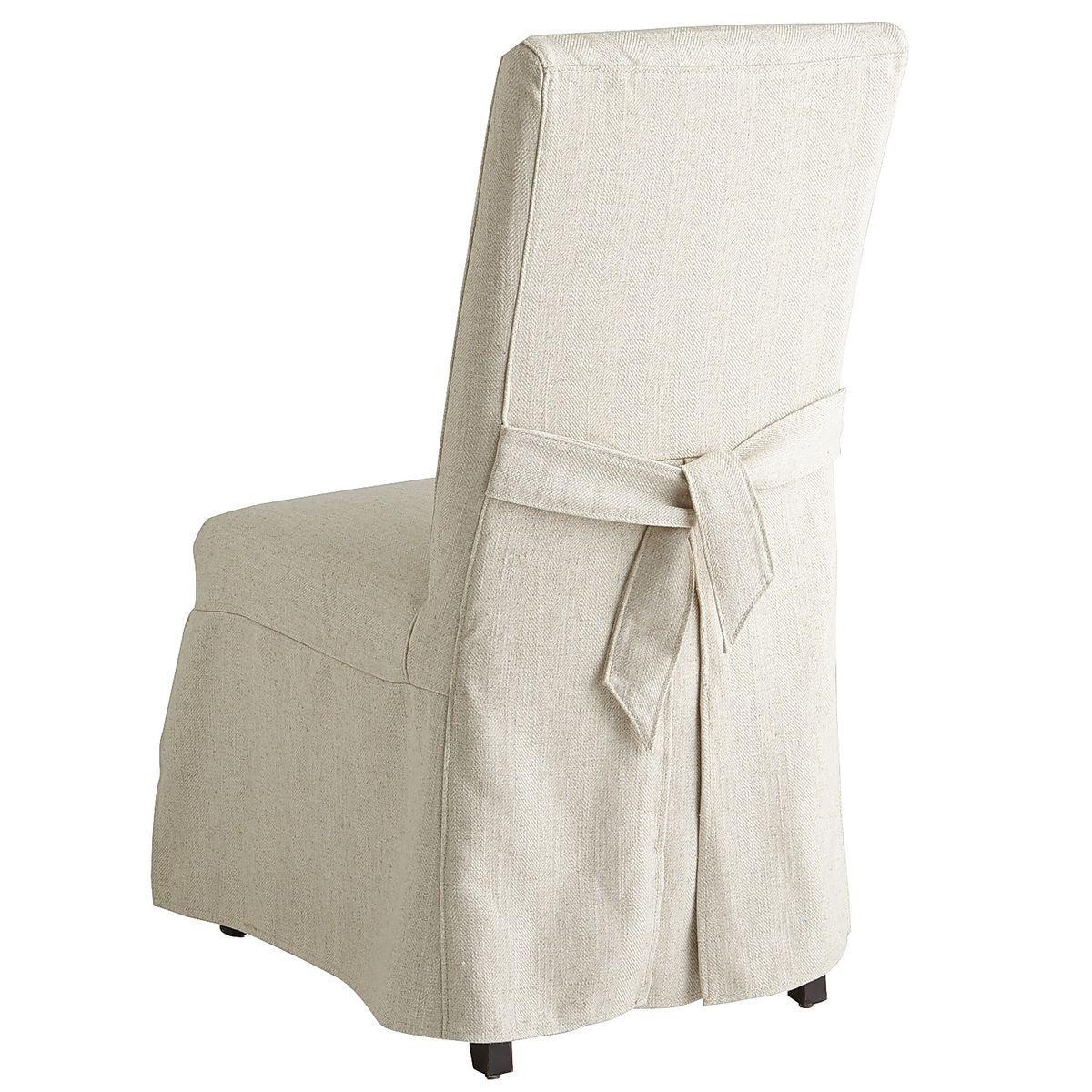 Dana Flax Chair Slipcover Pier 1 Imports Slipcovers For Chairs Slipcovers Dining Chair Slipcovers