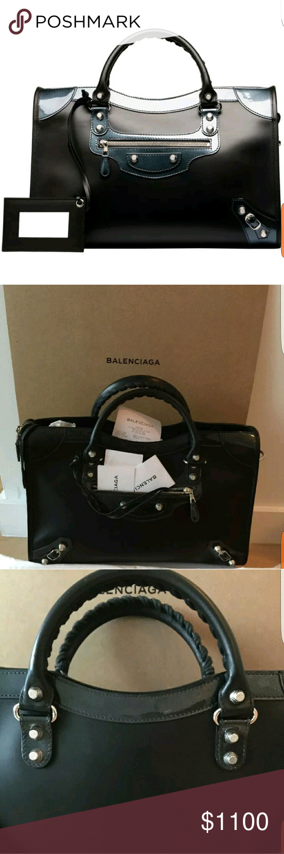 b66c1d998a Balenciaga Holiday City Giant Matte Calfskin Estimated Retail: $2,125  Condition: Great. Extremely Faint