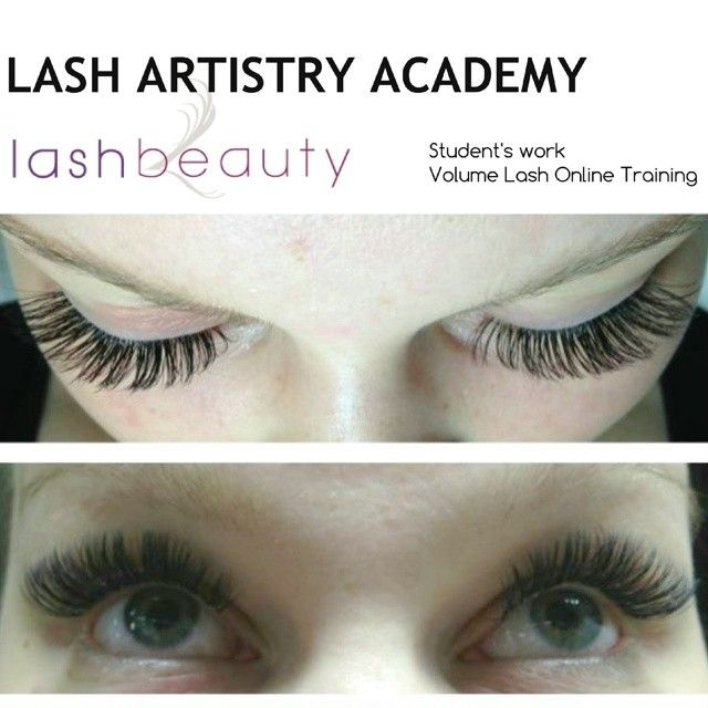We Successfully Trained Another Online Student In The Volume Lash
