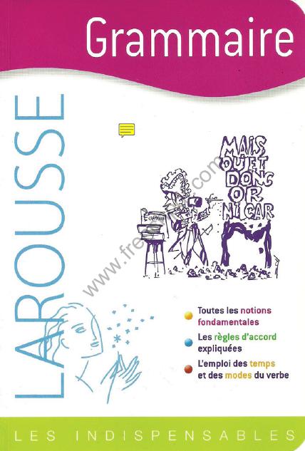 Larousse Grammaire Les Indispensables pdf gratuit