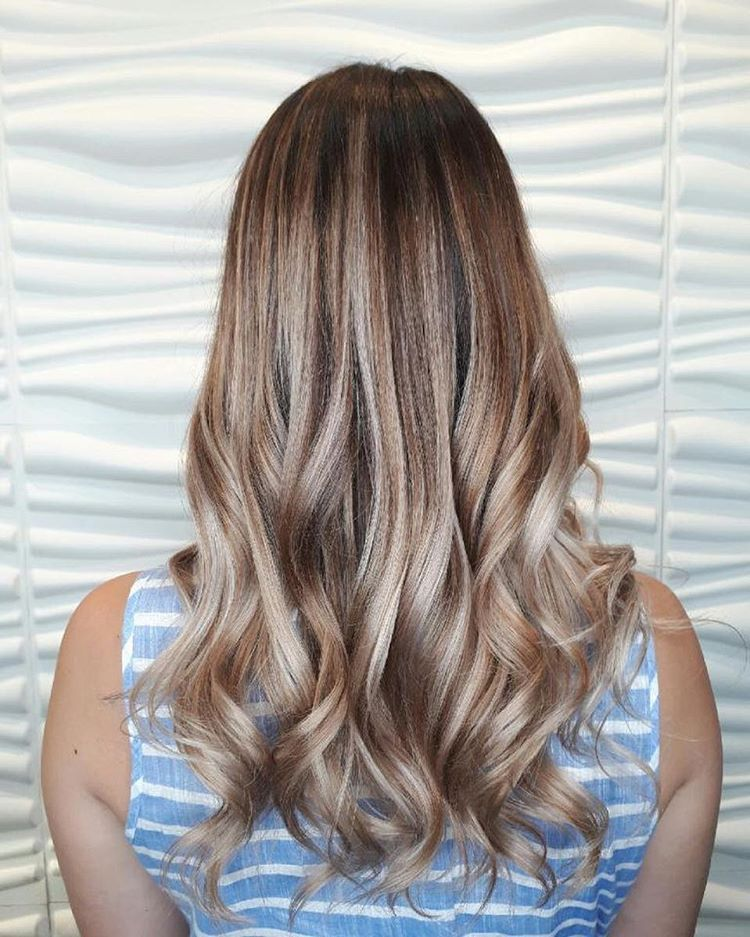 A little balayage action done by Tina. balayage