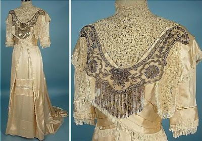 Enchanted Serenity of Period Films: Weddings from the Past: AntiqueDress.com...1910