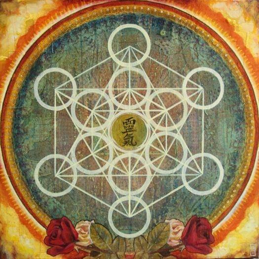 Our Lady Of Guadalupe Metatrons Cube Unreal Art Of Stacy Daguiar