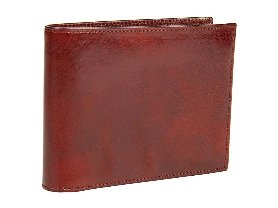 Bosca old leather collection continental id wallet