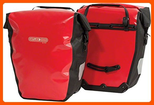 Ortlieb Back Roller City Panniers Red One Color One Size Useful