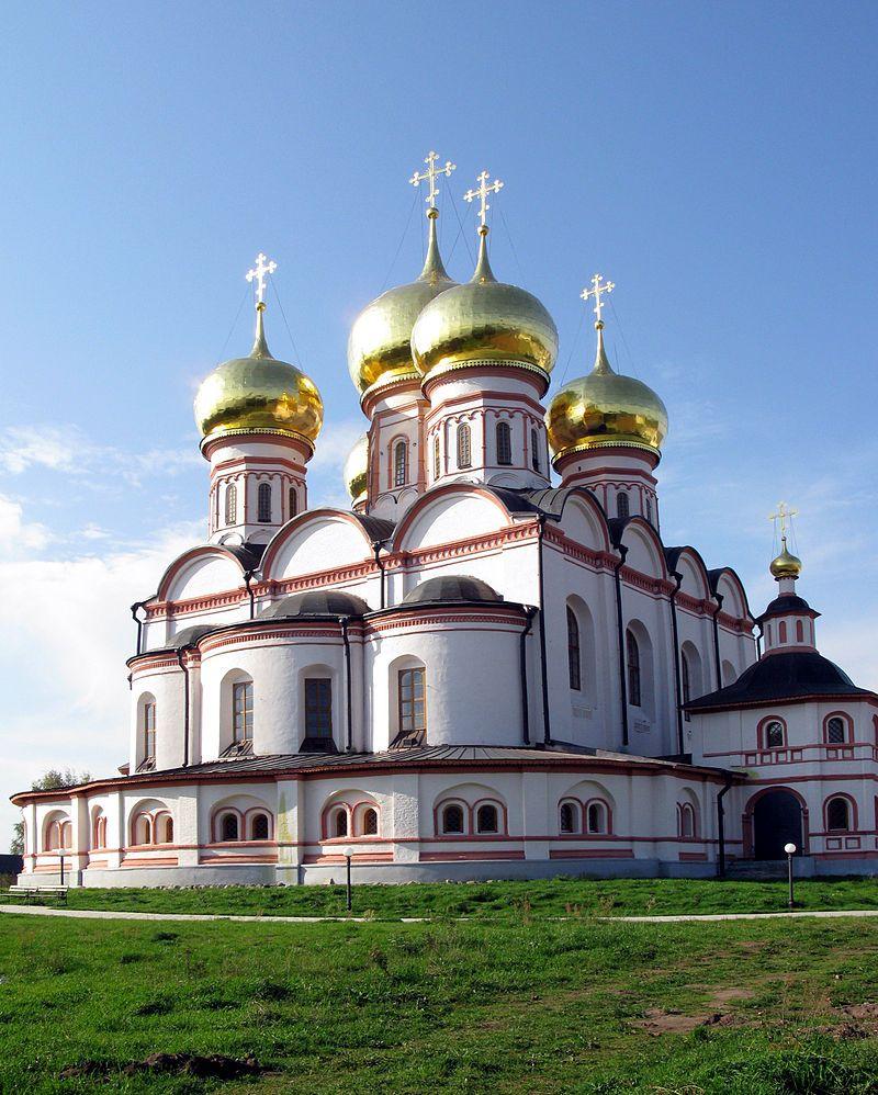 Valdaysky Monastery 32 - Валдайский Иверский монастырь —   Иверский Собор
