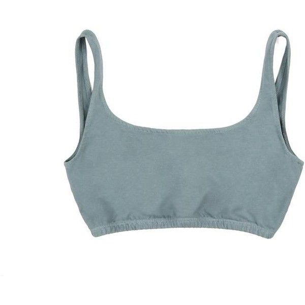 474d7d1e2e3 JERSEY BRA ( 40) ❤ liked on Polyvore featuring blue jersey and cotton jersey