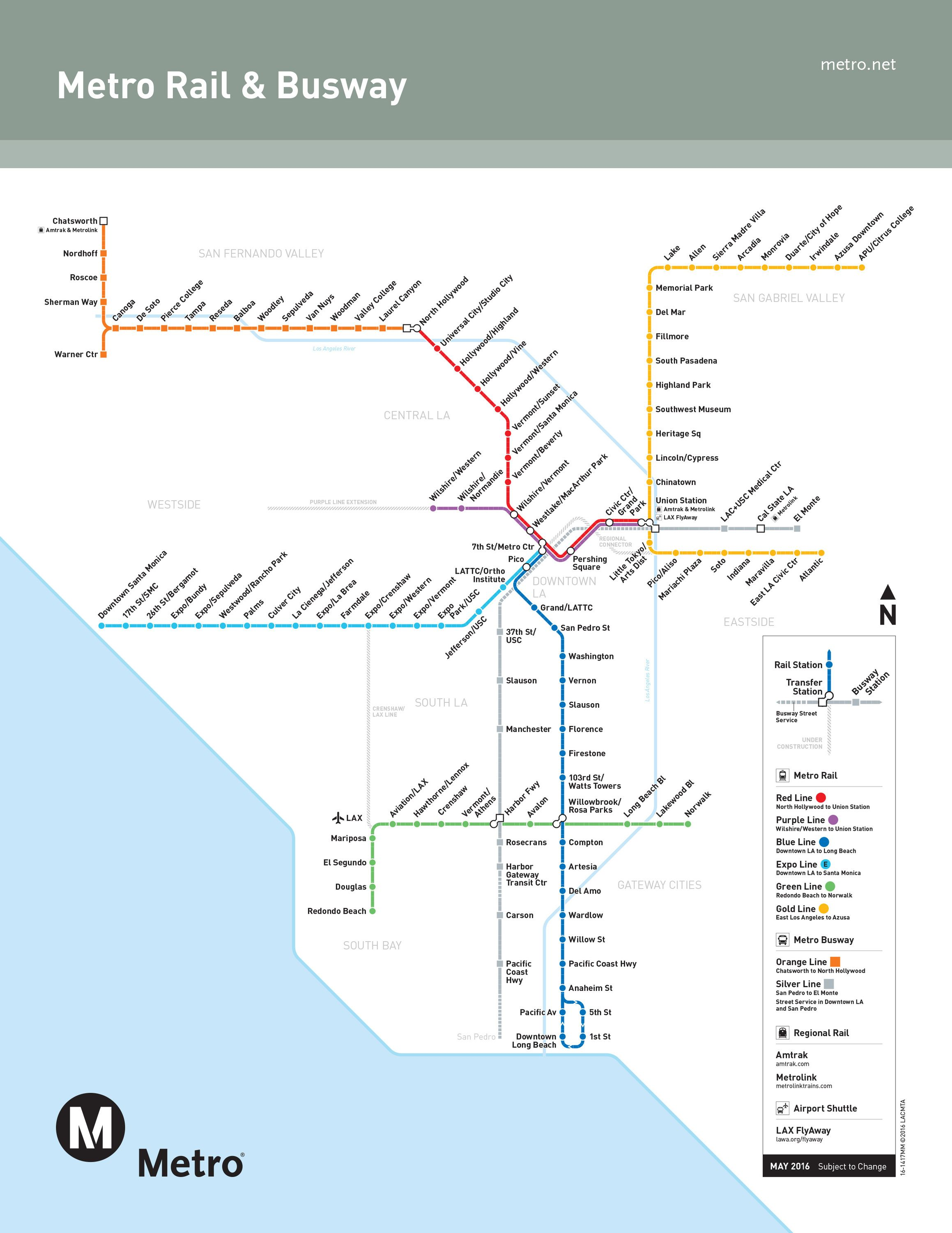 La Metro Rail Map A beginner's guide to Metro in 2019 | Staycation | La metro, Metro