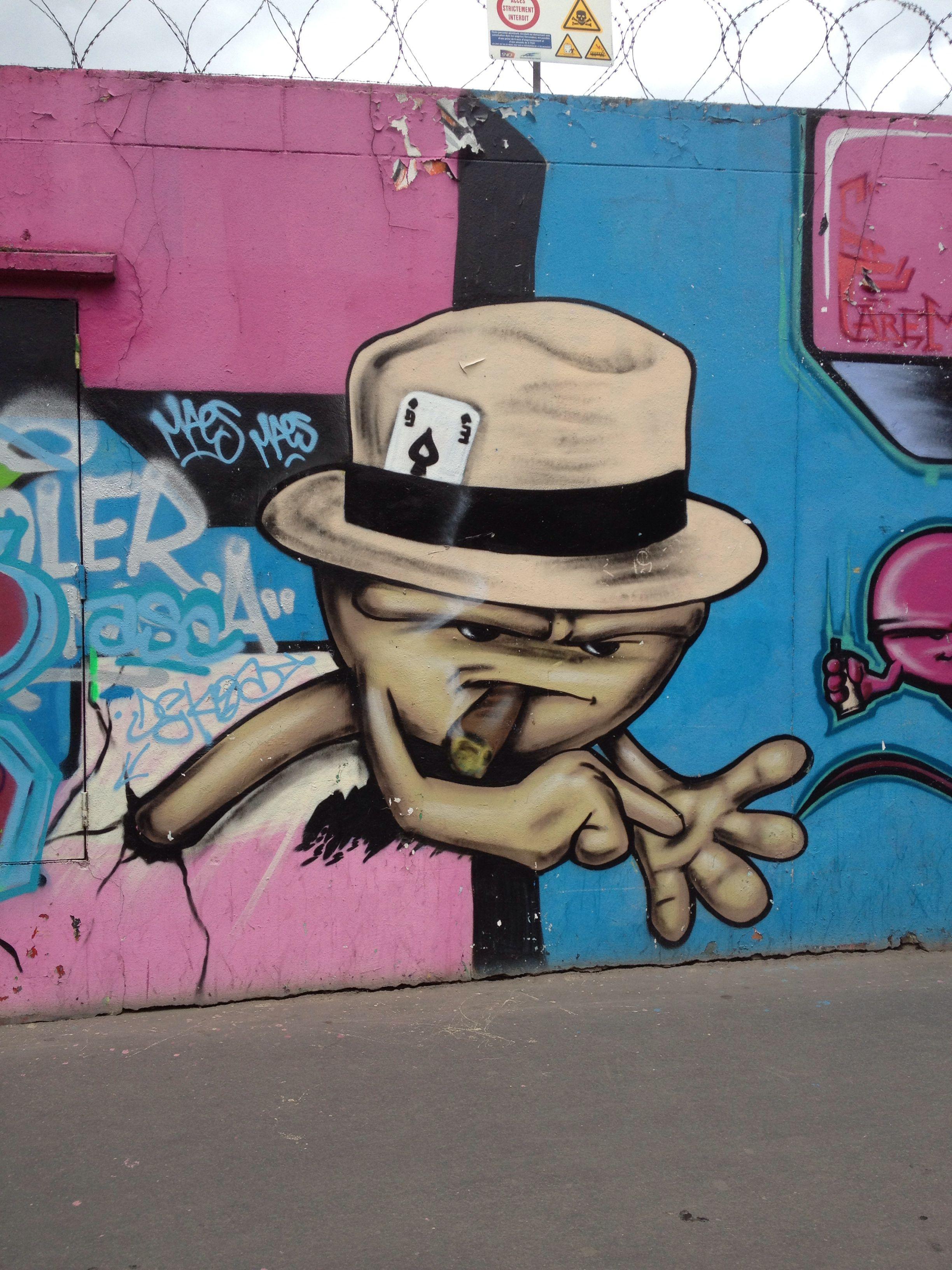 Street art in Paris https://www.etsy.com/shop/urbanNYCdesigns?ref=hdr_shop_menu
