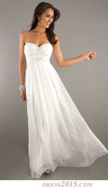fed3e6d98d white prom dress. Wedding dress. Bridal. Bride. Long.