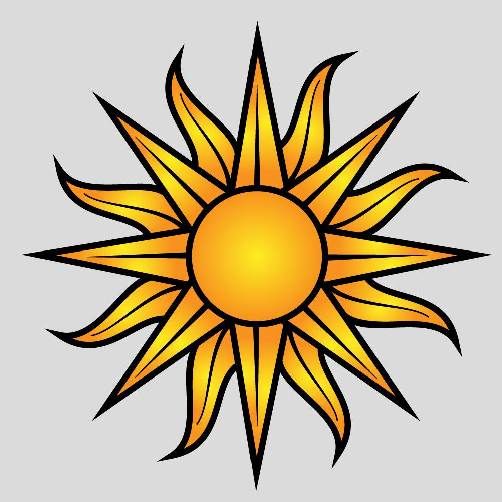 rising sun vector is available free now put the lightings with rh pinterest com au rising sun vector art rising sun vector illustrator