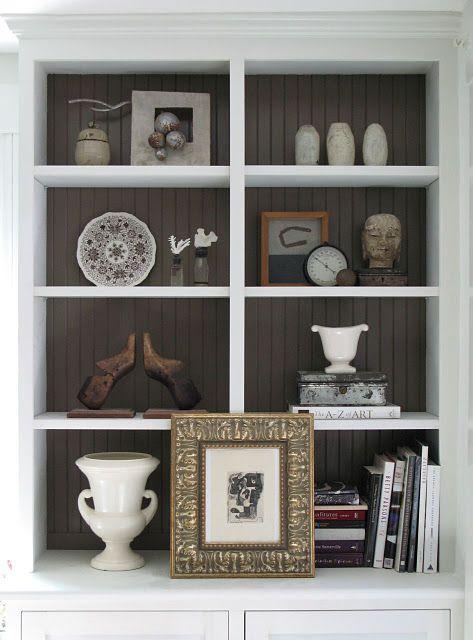 An Urban Cottage Flashback Bookcase Decor Bookcase Bookshelf Decor