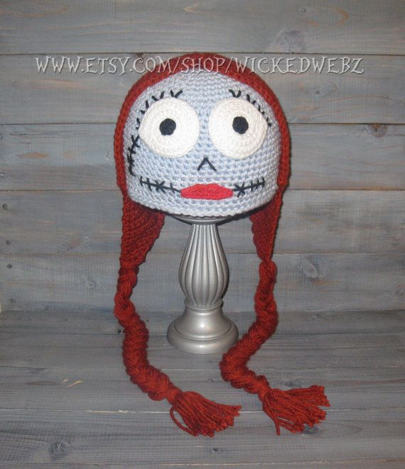 aceb3429852c5 ADULT Sally Nightmare Before Christmas crochet hat
