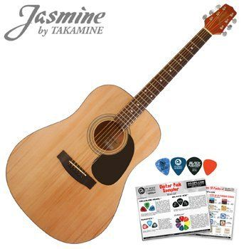 Jasmine By Takamine S35 Acoustic Dreadnought Guitar Planet Waves 16 Pick Sampler Pack By Takamine 78 50 The Jasmine S35 By Takamine Delivers That The Globe