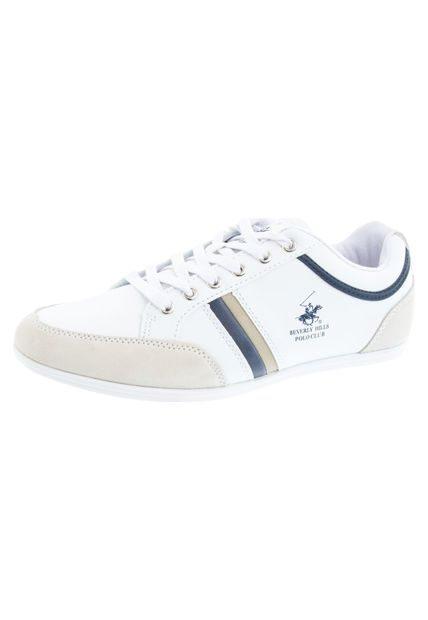 Lifestyle Beverly Hills Polo Club Blanco | Zapatos | Ojales