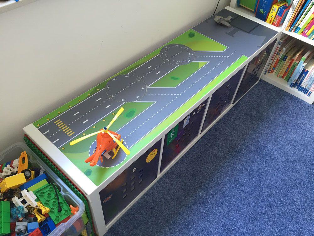Minecraft kinderzimmer ~ Ikea kinderzimmer landebahn kallax regal babyzimmer