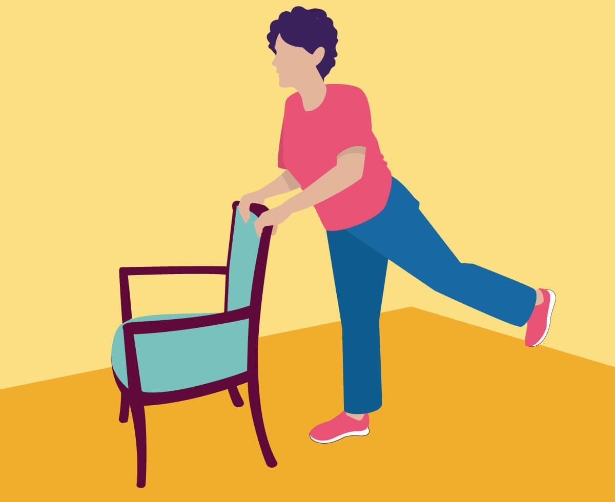 Pin On Chair Exercises Balance