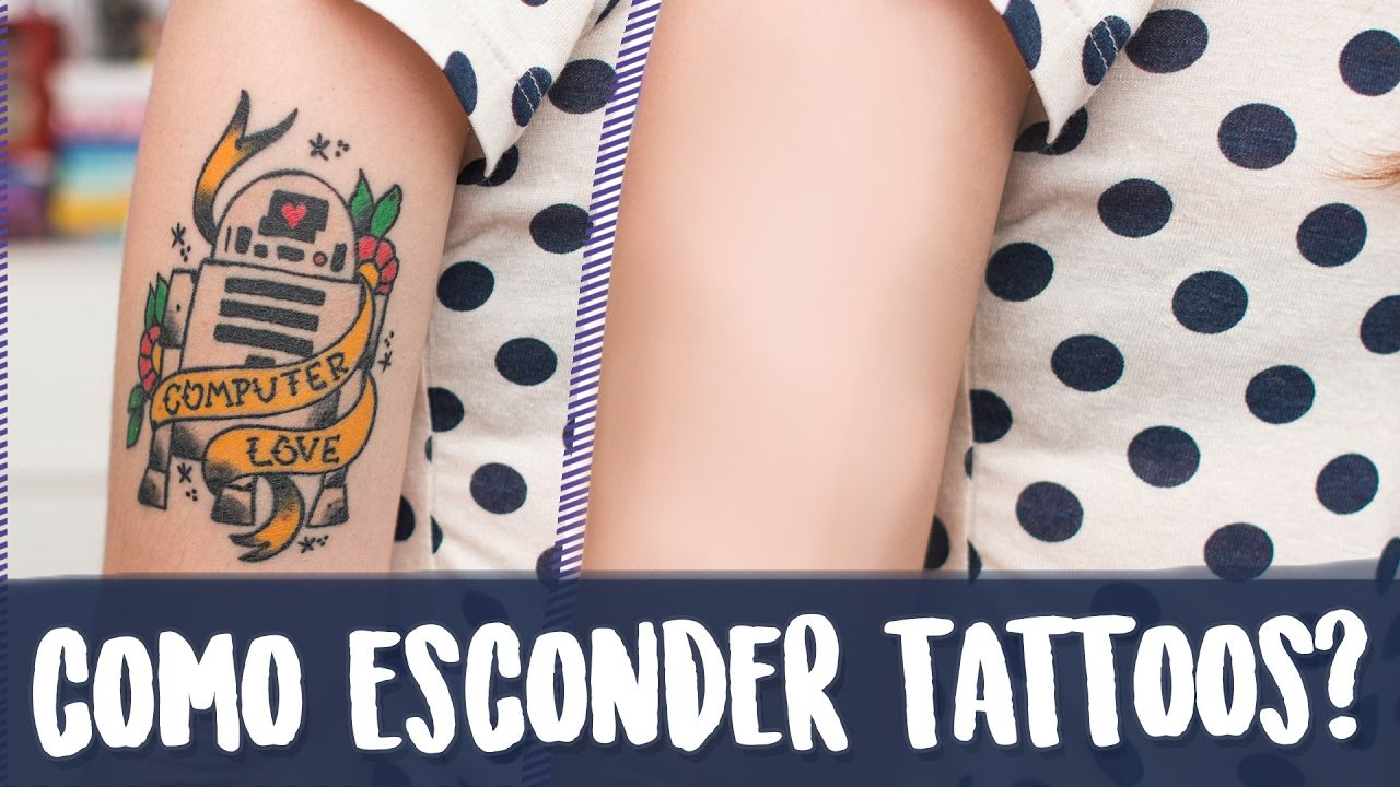 Como Esconder Uma Tatuagem Karen Bachini Tatuagem Esconde