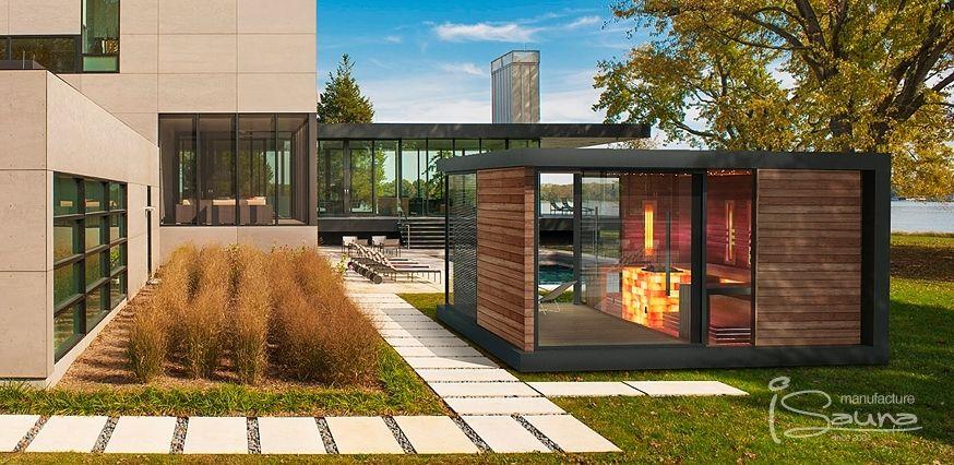 Pin von Markus Mailinger auf Außenanlagen Pinterest - sauna designs zu hause