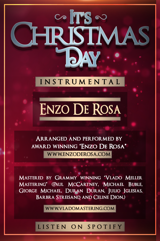 It S Christmas Day Instrumental Enzo De Rosa Michael Buble George Michael Christmas Sheet Music