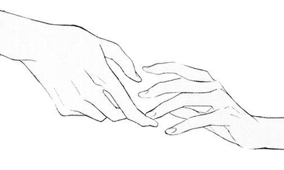1 929 Note Hand Reference Line Art Drawings Hand Drawing Reference