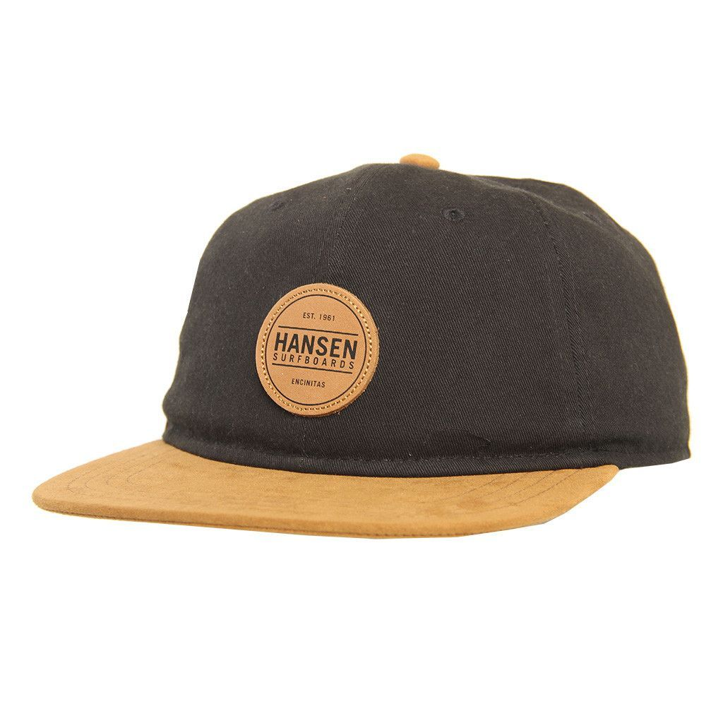 4605d450e The Leather Circle Logo Patch is a 6 Panel with a Suede Leather bill ...