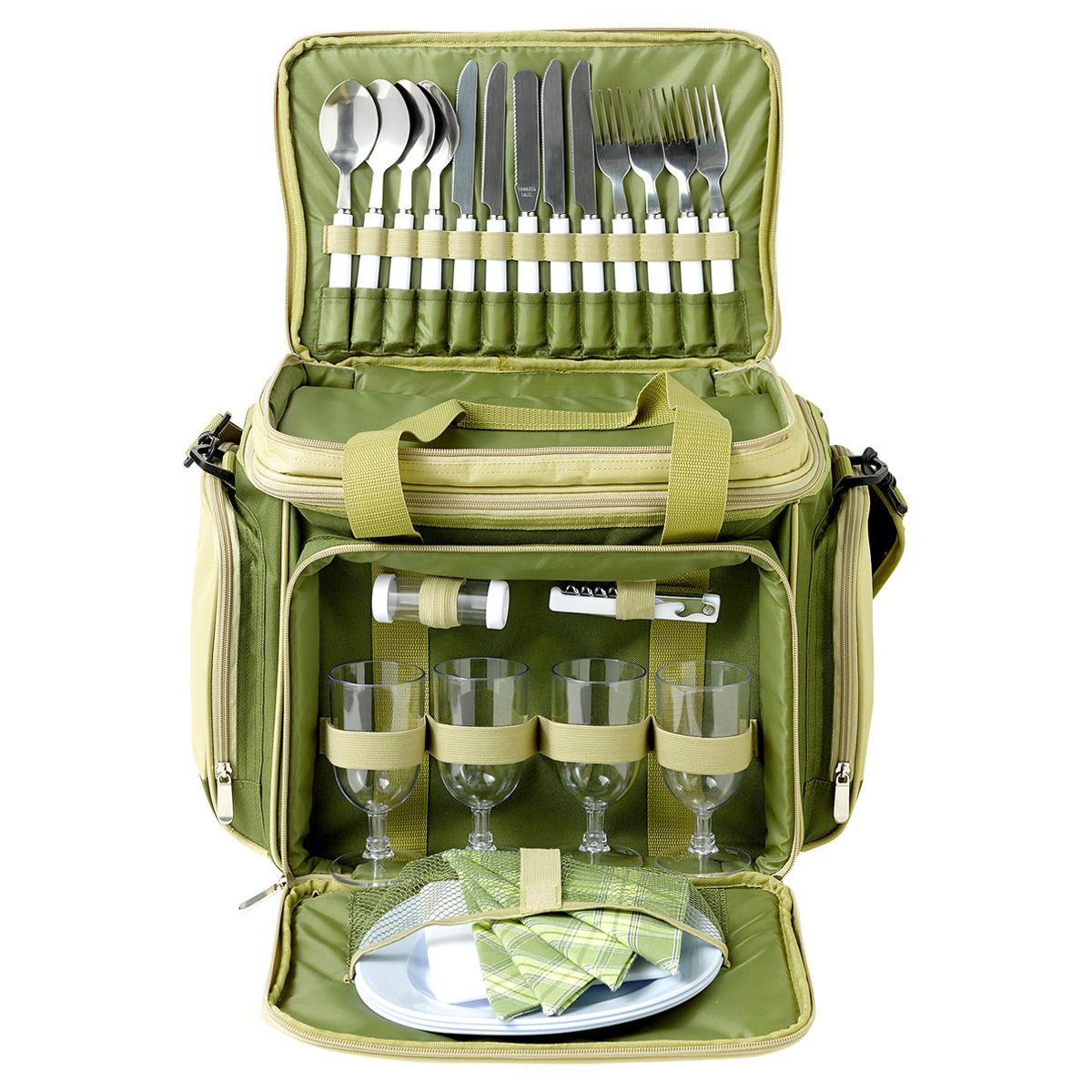 Bolsa nevera picnic verde Artesanato, Coisas para comprar
