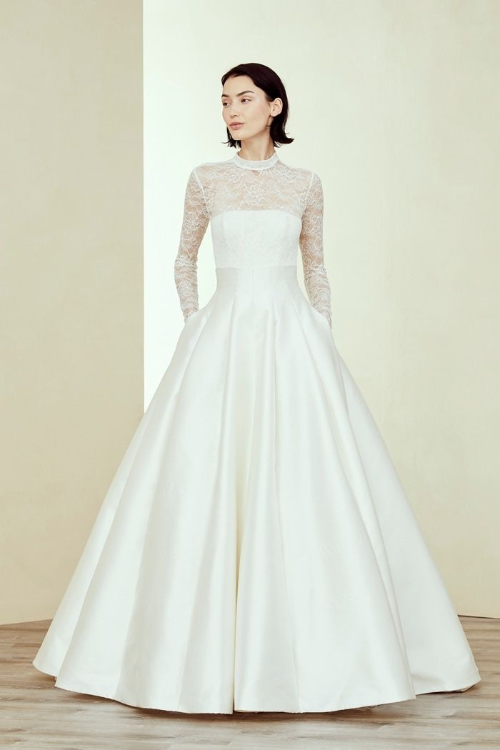 Amsale Wedding Dresses Fall 2019 Fall Wedding Dresses Long