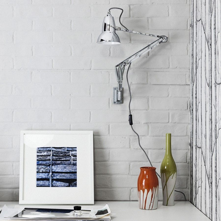 Original 1227 wall mounted lamp anglepoise wall mounted lamps and duo 1227 wall light anglepoise mozeypictures Image collections