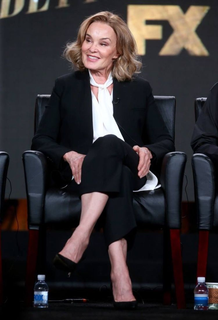Jessica Lange at the Television Critics Association winter press tour in Pasadena #jessicalange