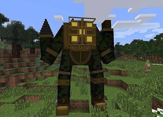 Bioshock Mod Minecraft 1 7 2   Minecraft mods   Bioshock, Minecraft