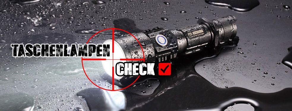 Taschenlampencheck ist die Seite auf der Lampenfreunde Ihre Taschenlampe bewerten.