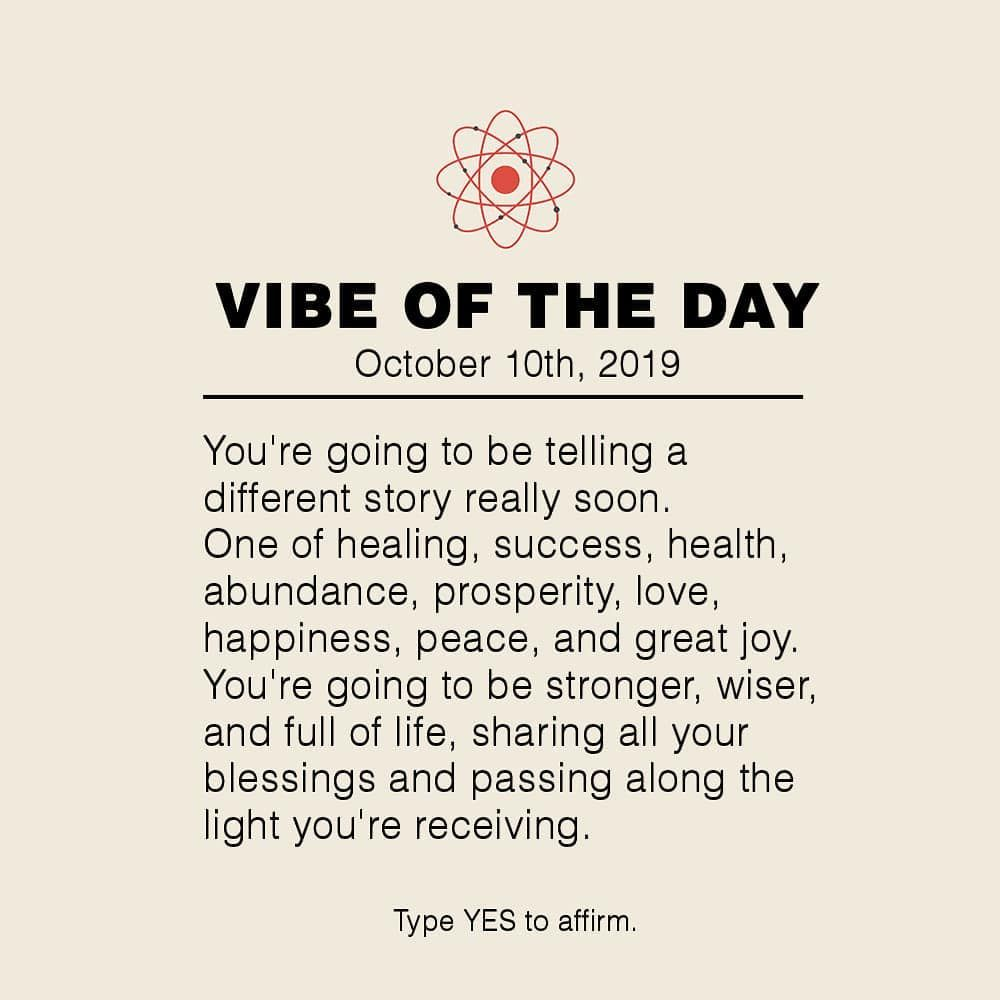 Vibe Of The Day Inspirational Quotes Law Of Attraction Love