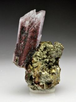 Creedite with Pyrite from Chihuahua, Mexico
