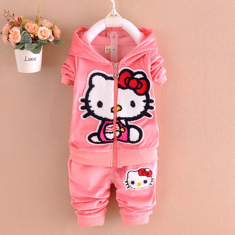 f937351e2 Cheap girls set, Buy Quality girls clothing sets directly from China clothing  sets Suppliers: 2017 Girls clothes Baby Girl Clothing Set Children cat kt  Cute ...