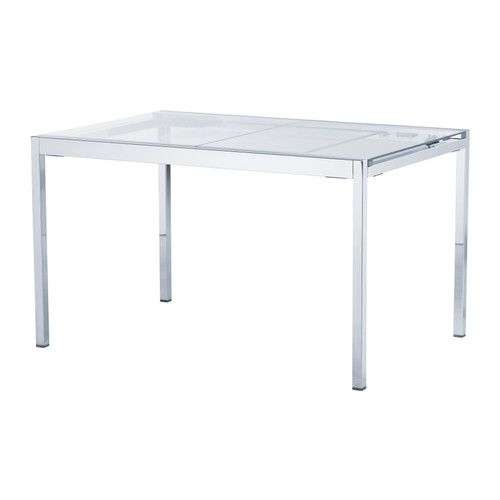 glivarp dining table ikea the glass table top lets light through